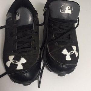 Armor bound baseball sneakers